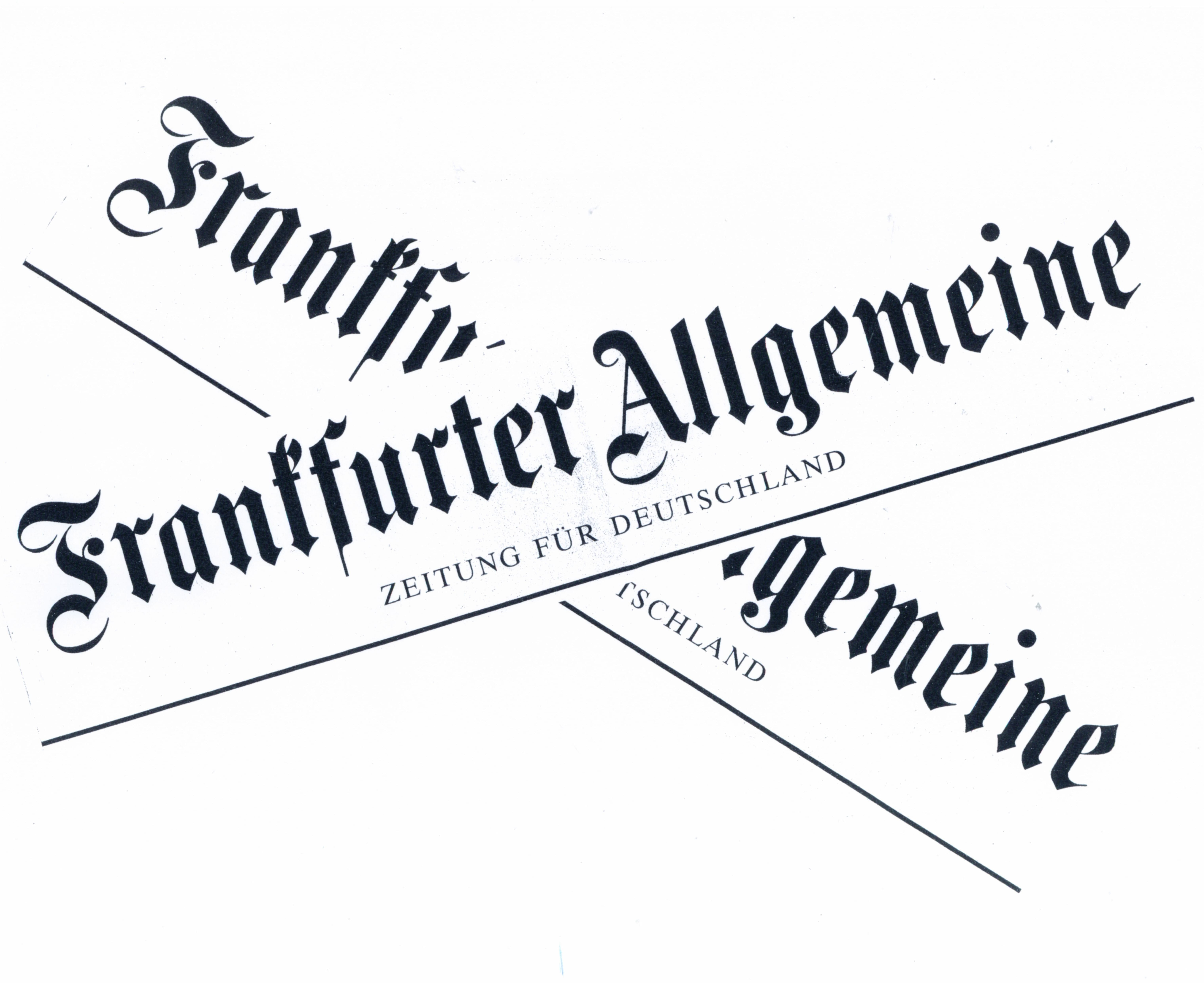 Frankfurter Rundschau überkreuz